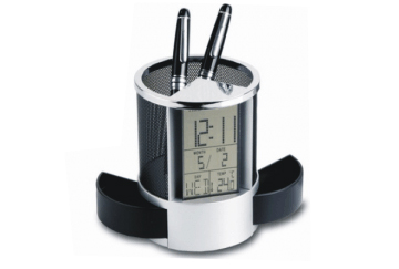 Digital Mesh Clock and Pen Holder / AC1002