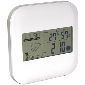 Digital Desk/Wall Clock with Weather Station
