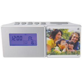 Radio Clock with Picture Frame (AC20005)