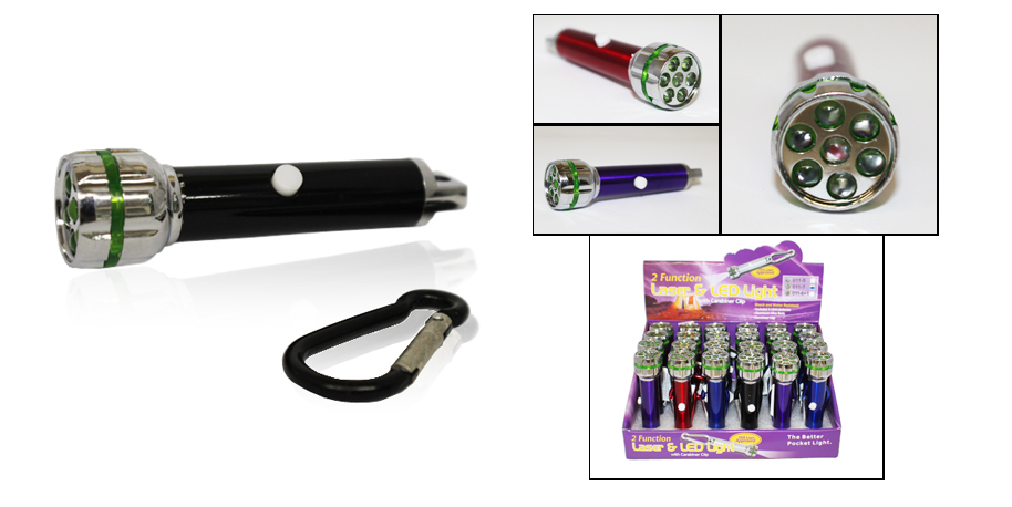7 LED super bright keychain flashlight / AF1007s