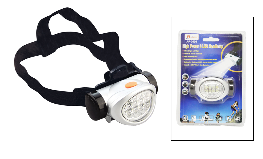 8 LED Headlamp / AF3006