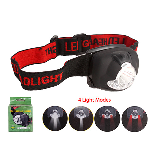 3W+3LED 4 Light Modes High Powered LED Headlamp