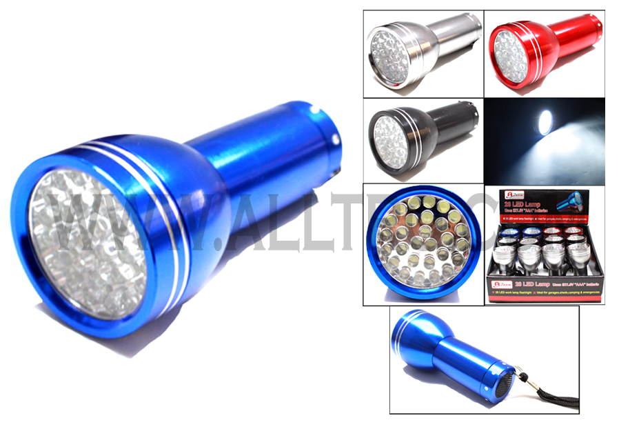 28 LED Handheld Lamp Flashlight