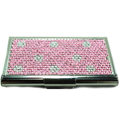 Polkadot rhinestone business card holder ag2011 ag2011 welcome polkadot rhinestone business card holder ag2011 colourmoves Image collections