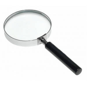 100mm Hand Held Glass Magnifier 4X Magnifier Reading (AG6050)