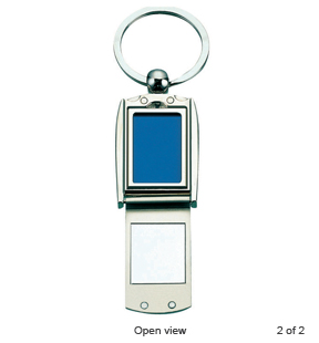 Rounded Photo Frame Key Tag (PP.AK20002)