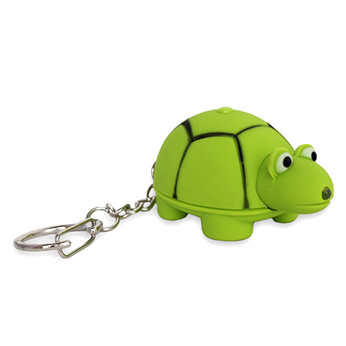 LED Tortoise Keychain with sound (AN2011)
