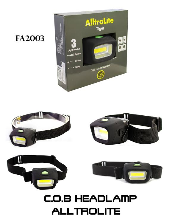 3 MODES White Lights Head Lamp FA2003 (Tiger)