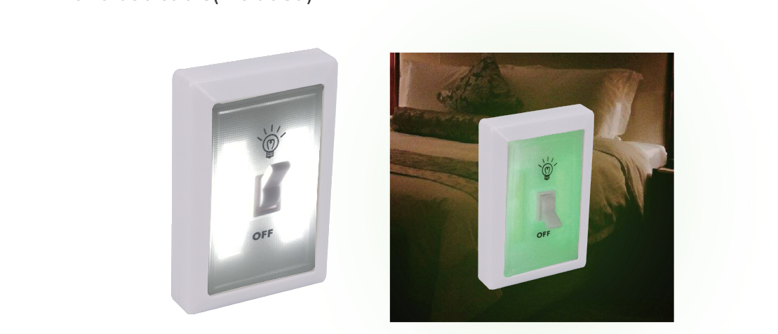 Glow In Dark Cordless Switch Light (FA2116)