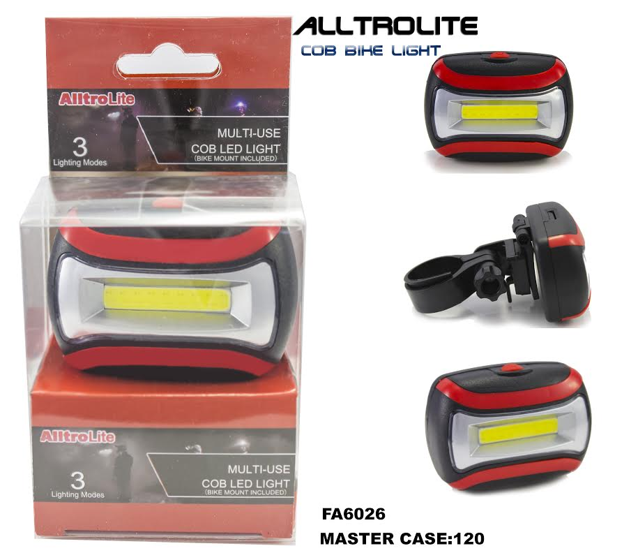 COB BikeLight (White+Red 2in1) (FA6026)
