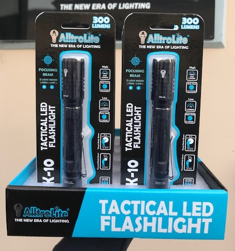 300 Lumens Tactical Flashlight (DK10)