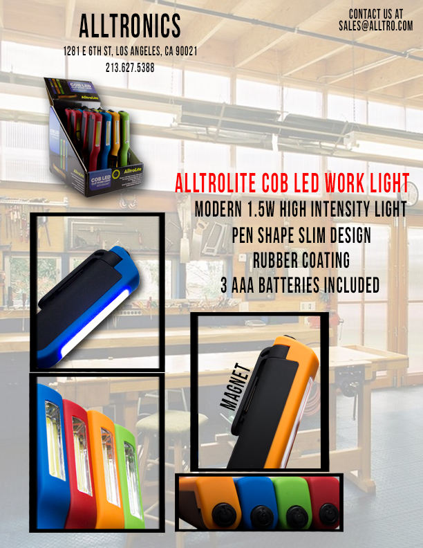 COB Pen Shape Work Light (FA2018)