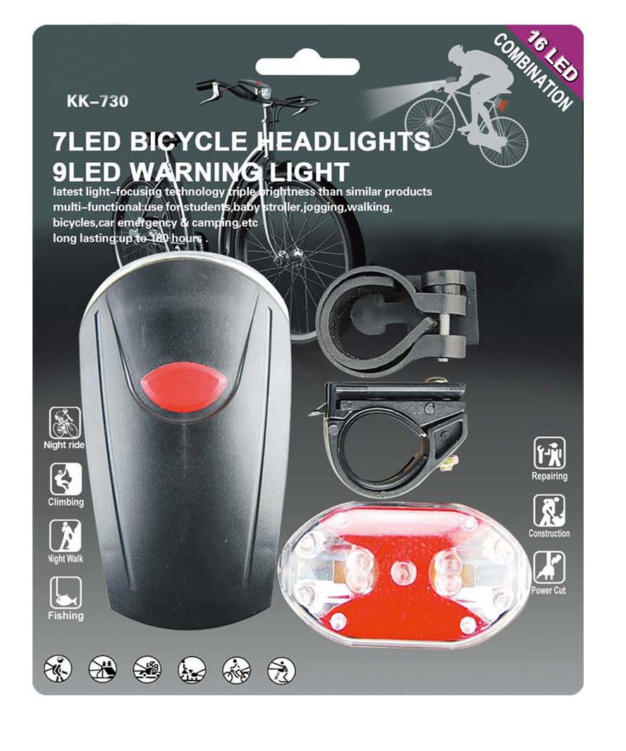 16 LED Bike Light Set (AF6003)
