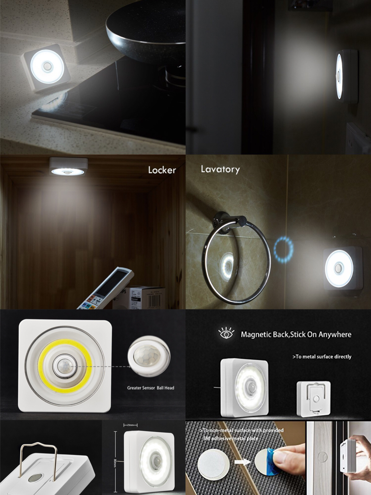 2Pack Wireless Sensor Light (MS20)