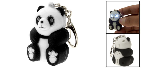 LED PANDA Keychain with sound (AN2003)