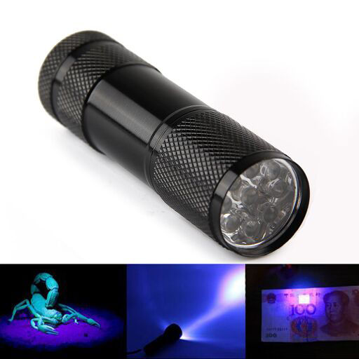 9 LEd UV Black Lights (FA2201)